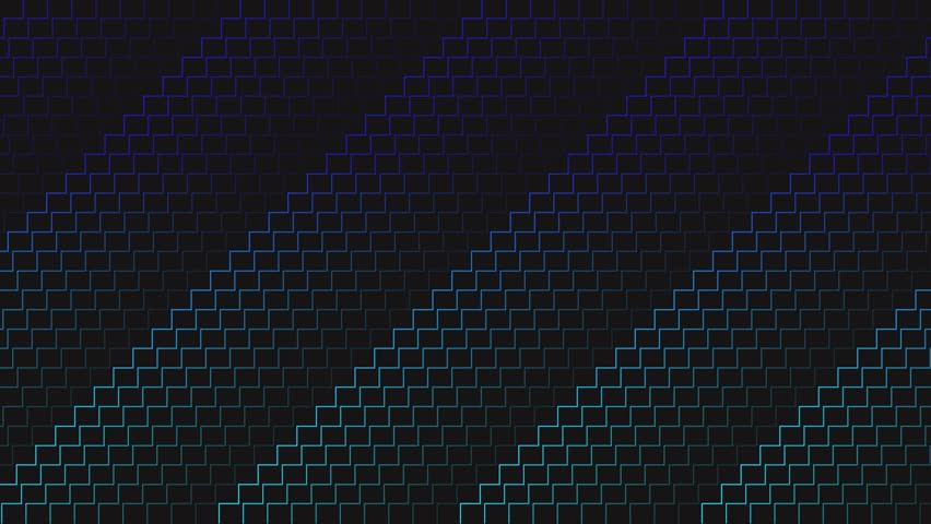 Abstracts animation backgrounds, lines, optical and isometric for used in texture and background. Set of background