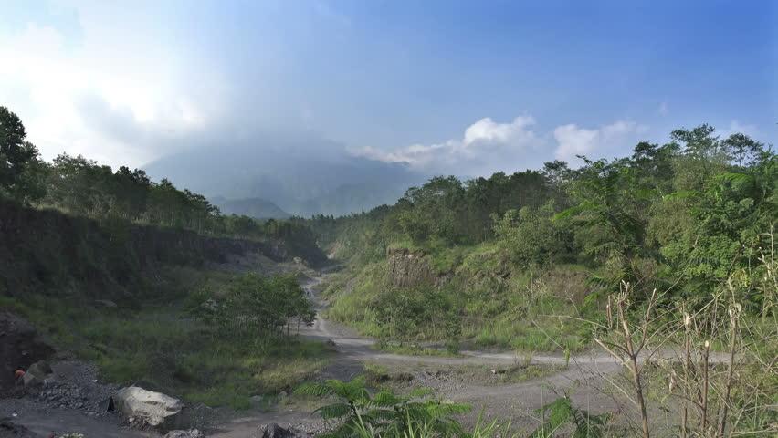 Mount Merapi, Gunung Merapi, literally Fire Mountain in Indonesian