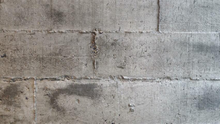Raw concrete brick wall texture loft industrial style video 4k