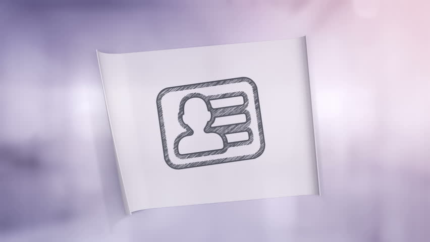 Animation unfolding of sticker on glass, wood or concrete wall with symbols of business, money or industrial work. | Shutterstock HD Video #1013457710