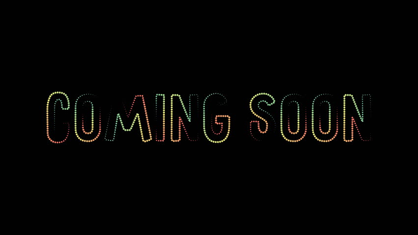 Coming soon revealer motion poster, banner text. Available in 4K FullHD and HD video render footage | Shutterstock HD Video #1013477810