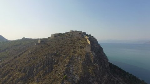 4K Drone footage in Nafplio during afternoon