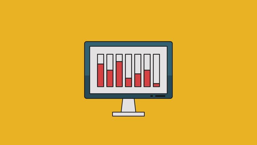 Statistics and technology HD | Shutterstock HD Video #1013564420
