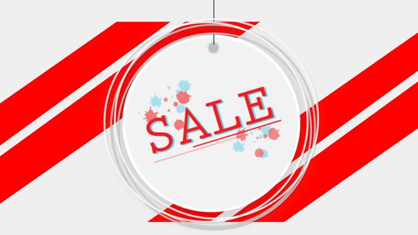 Circle sign sale | Shutterstock HD Video #1013580920
