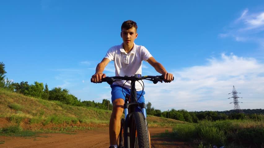 Bike sport mountain bike ride | Shutterstock HD Video #1013666990