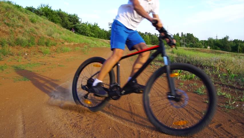 Bike sport mountain bike ride | Shutterstock HD Video #1013667230