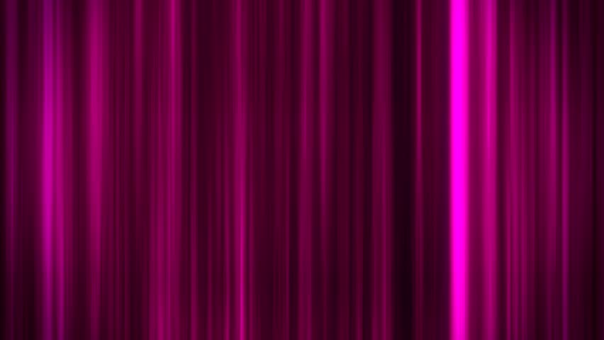 Fuchsia Glowing Vertical Lines Loop Motion Graphic Background