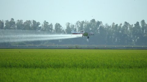 Agricultural Aviation. Crop Duster.