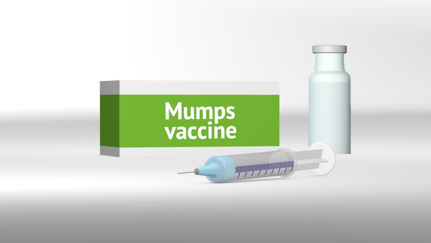 Mumps vaccine medical treatment