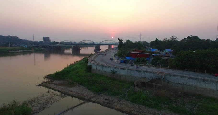 Chao Praya river was born in Pak Nampho Nakhon Sawan province the four rivers Ping Wang Yom and Nan flow together at Pak Num Pho and become to the biggest and the longest Chao Phraya river of Thailand
