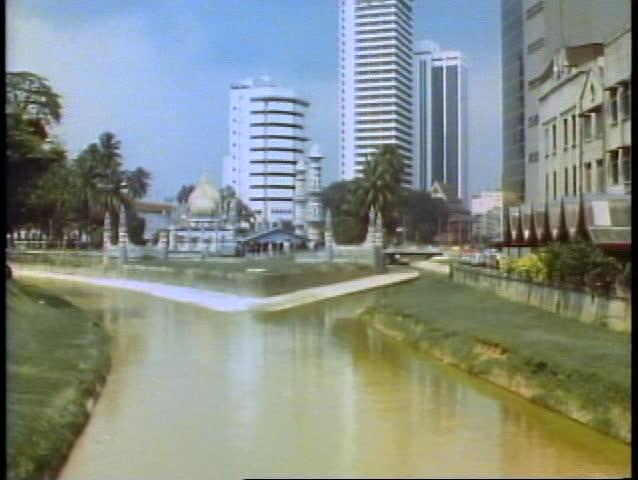 KUALA LUMPUR, MALAYSIA, 1982, Kuala Lumpur skyline