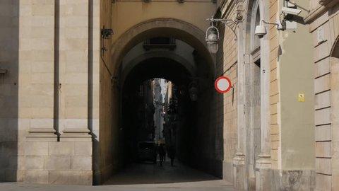 Bas'lica de la Merce, Carrer de la Merce, Barcelona, Catalonia, Spain, Europe