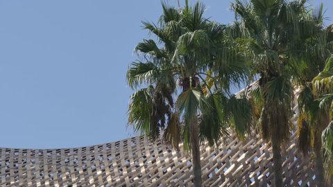 The Piex d'Or sculpture by Frank Gehry, Barcelona, Catalonia, Spain, Europe