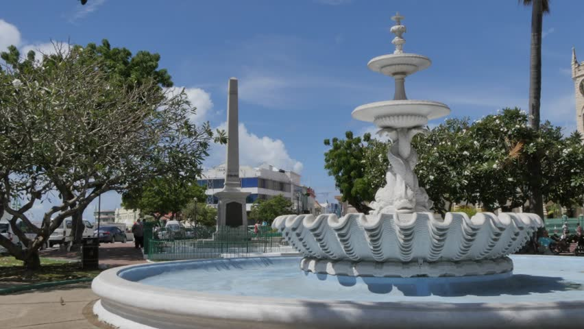 National Heroes Square and Parliament in Bridgetown, St Michael, Barbados, West Indies, Caribbean