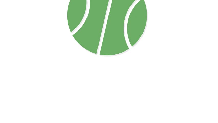 Sports icons animation with white  background.Basketball icon animation with white background.