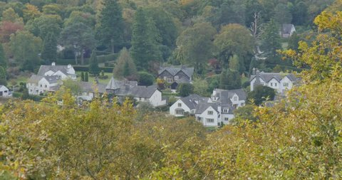 Windermere Town, Lake Windermere, Grasser, Cumbria, England, United Kingdom, Europe
