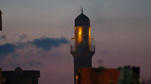 Night Ulu Mosque in Mardin