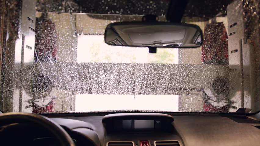Car wash, car wash foam water, Automatic car wash in action | Shutterstock HD Video #1014902950