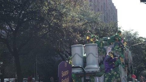 Mardi Gras in Louisiana