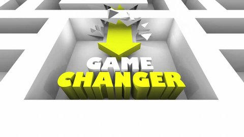 Game Changer New Breaking Rules Walls Maze 3d Animation