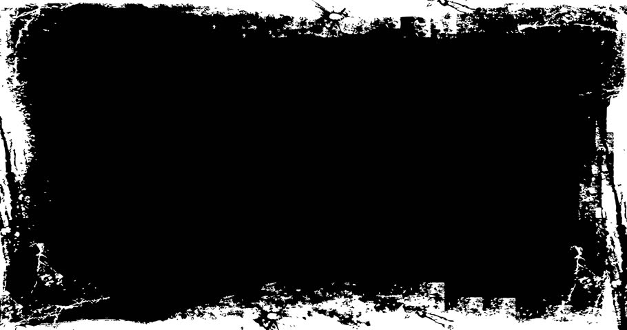 Grunge Distressed Frame textured Loop/ Animation of a vintage motion graphic with black and white grunge distressed frame texture   Shutterstock HD Video #1015439650