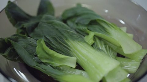 Siew pak choy is a type of Chinese Cabbage Ginger garlic braised Oyster Sauce and garlic