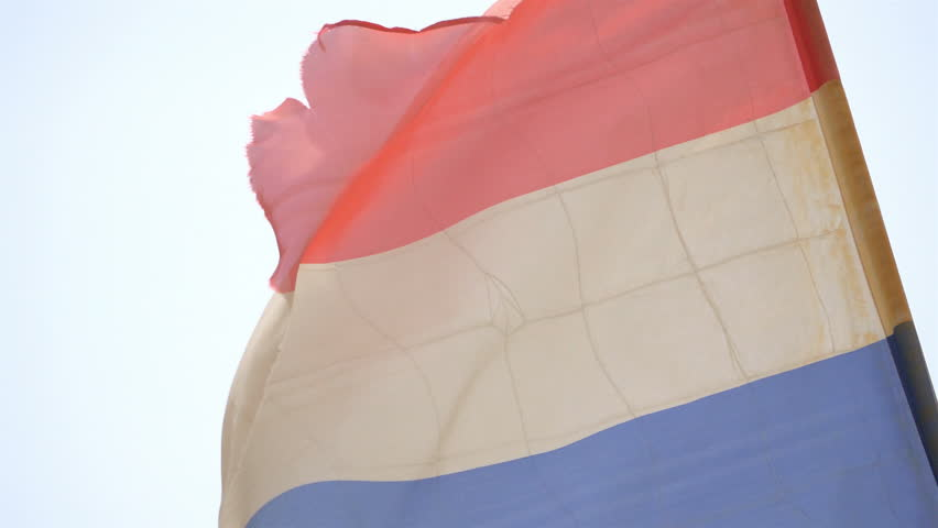 Dutch Flag in 4K