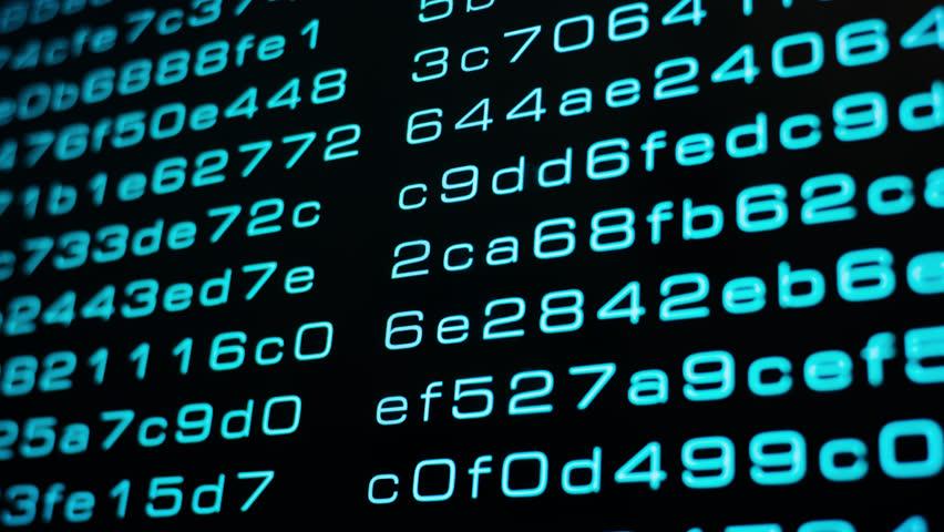 Computer machine learning algorithm code, big data algorithmic transfer 4k | Shutterstock HD Video #1016019160