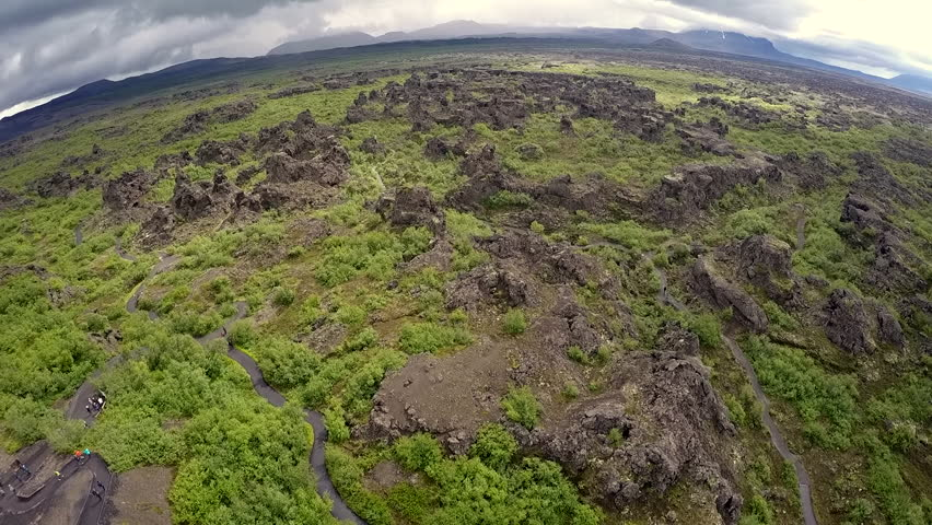 Dimmuborgir - the Dark Fortress at M_vatn are a true wonder of nature and nowhere else to be seen in the world