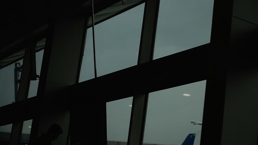 Airport. Waiting for the flight | Shutterstock HD Video #1016821540