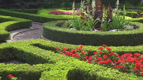 English Garden Style Stock Video Footage 4k And Hd Video Clips