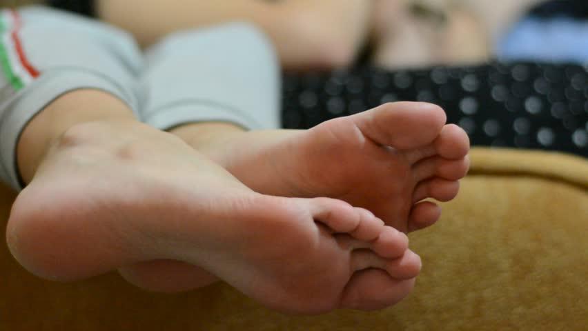 Teen Girl Foot