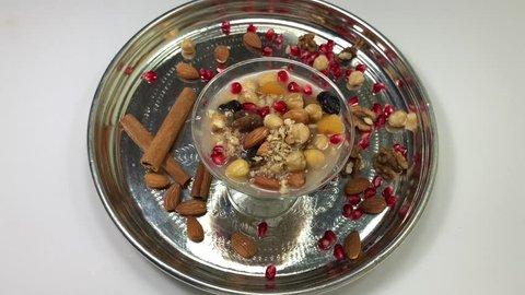 Turkish dessert, Asure.