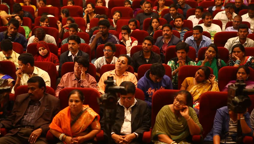 Indian People in the Auditorium 5th Jan 2016 Hyderabad India
