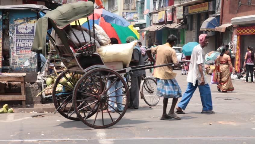Rickshaw Puller Kolkata India 1st Stock Footage Video (100% Royalty-free)  1017232270   Shutterstock