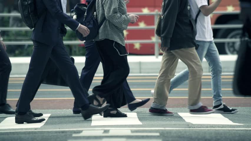 Tokyo business walking    Shutterstock HD Video #1017695290