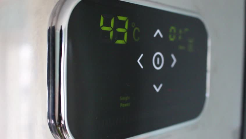 Remotely Setting the temperature to 50 degrees on a boiler. Turning down the temperature on a thermostat to save energy.