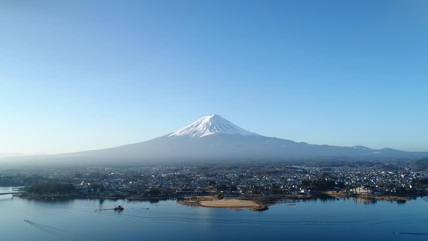 Landscape of Mt. Fuji | Shutterstock HD Video #1017976720