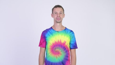 09b2b1d6 Tie Dye Shirts Stock Video Footage - 4K and HD Video Clips ...