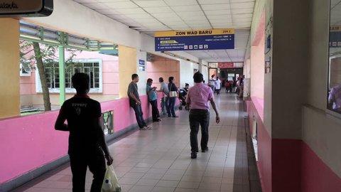 Melaka, Melaka / Malaysia - 07 16 2018: Malaysia Melaka General Hospital