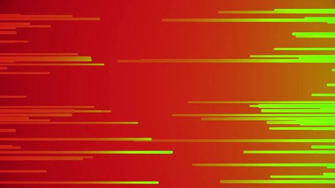 Abstract background with fast flying light streaks. Neon lines animation