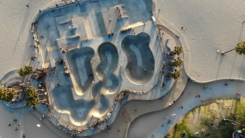 Aerial - Venice Skate Park