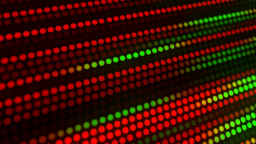Festive Christmas blur light background. Circle dot lights template for holiday video card backdrop or festive concept.    Shutterstock HD Video #1018917310