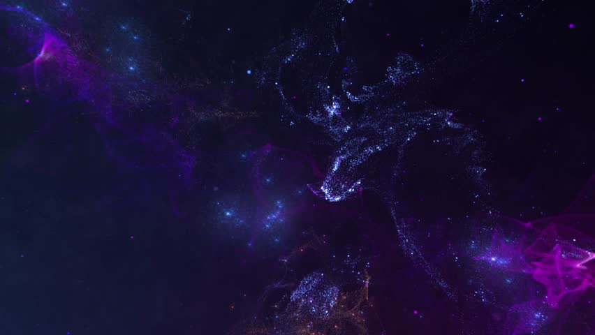 Deer, view on galaxy with central body that attracts the surrounding objects   Shutterstock HD Video #1019025250