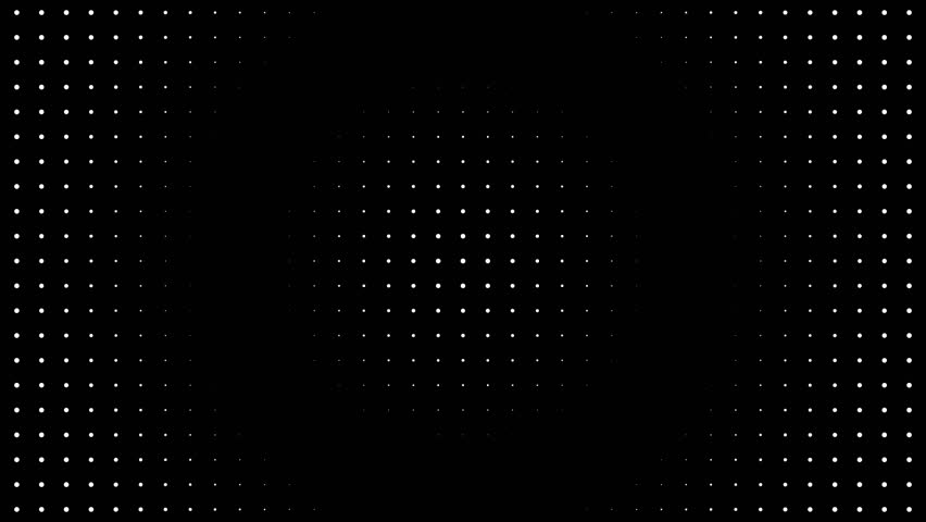 Abstract motion background loop digital dot modern black and white | Shutterstock HD Video #1019097100