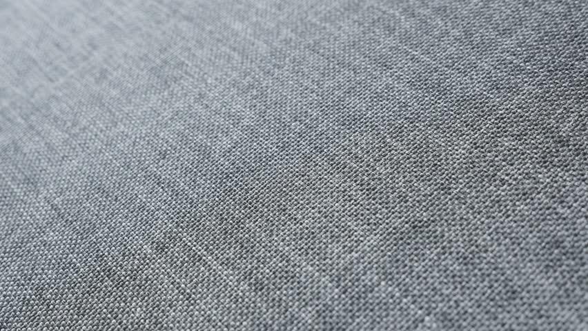 Modern Gray Sofa Upholstery Fabric Stock Footage Video 100