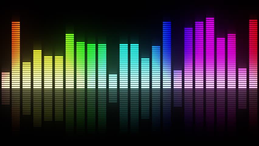 Colorful audio meter led lights animation which is suited for broadcast, commercials and presentations. It can be used also in Fashion, Photography or Corporate animations. | Shutterstock HD Video #1019445190