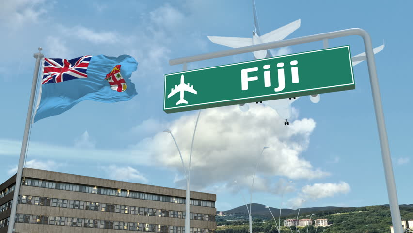 Fiji, Approach of the Aircraft Stock Footage Video (100% Royalty-free)  1019621770 | Shutterstock