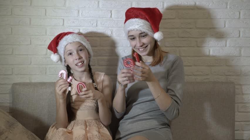 141710b93 Happy Kids in Santas Hats Stock Footage Video (100% Royalty-free)  1020047860   Shutterstock