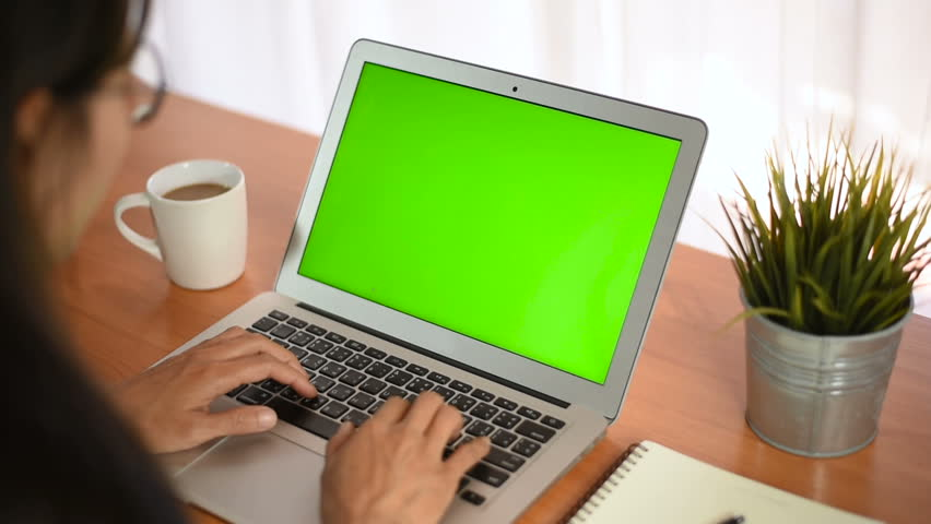 Young business start up, Young Owner Woman Start up for Business Online Working at home, Over the shoulder shot of a woman typing on a computer laptop with a key-green screen in home. | Shutterstock HD Video #1021001200